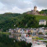 Die Burg Cochem oberhalb der Mosel