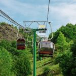 Die Sesselbahn an der Mosel bei Cochem