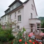Mosel Ferienhaus Rosa mit Garten